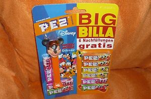 PEZ-Spender-Dispenser-Disney-Extrem-034-Minni-mit-Retrobrille-034-RAR