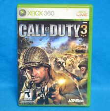 Activision Call of Duty 3 CoD Video Game Xbox 360