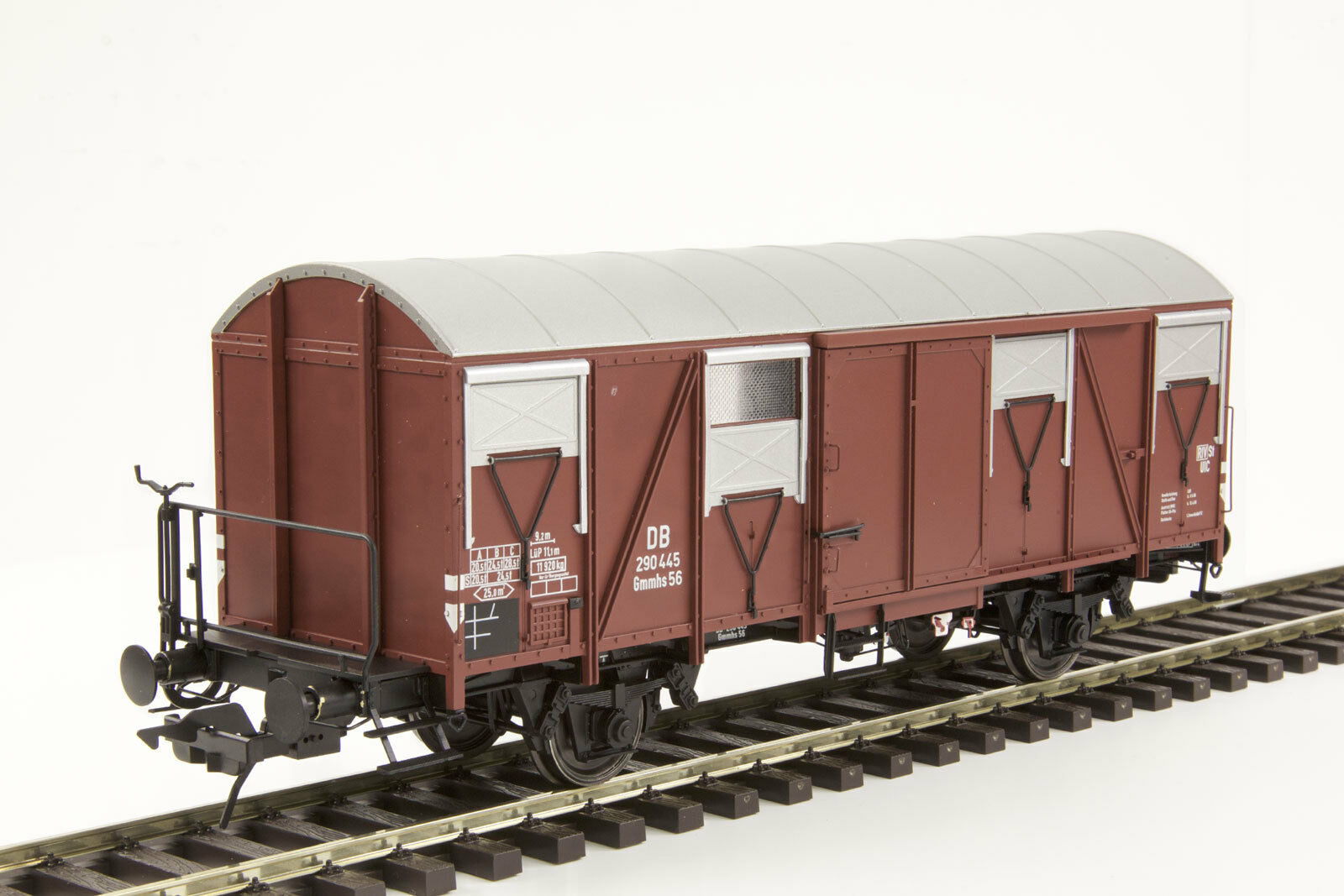 Lenz 42243-01 Güterwagen Gmmhs 56 DB mit Bremserbühne Spur 0    Elegante und robuste Verpackung