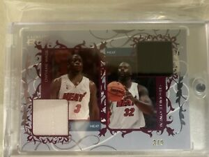 2006-Topps-Luxury-Box-Wade-Shaq-3-9-Game-Used-Jersey-Card-2006-Champs-Miami-Heat