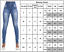 Womens High Waisted Trousers Jeans Slim Fit Skinny Stretch Denim Pants Size 2-10