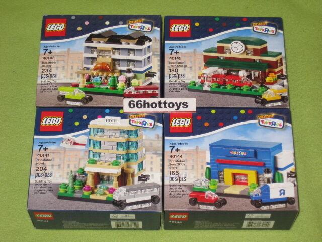 LEGO Bricktober Complete 40141 40142 40143 40144 (damaged box) NEW