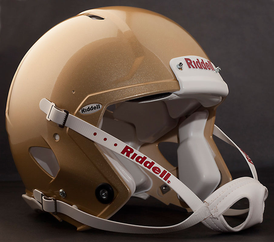 Riddell Revolution SPEED Classic Football Helmet (color  METALLIC VEGAS gold)