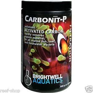 Brightwell Carbonit P 500gm Pelletized Activated Carbon for Clean Aquarium Water