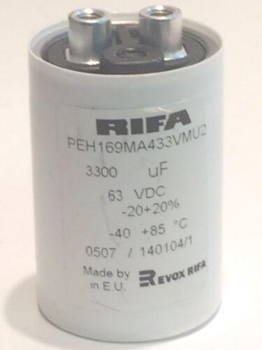 3300uf 63v//KEMET RIFA peh169ma433vmu2 Migliore Qualità Industria Condensatore ad2k8