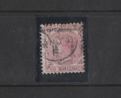 1878 New Zealand Victoria 2 deep rose SG 185 fine used perf toning