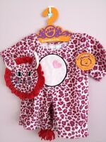 Pink Cheetah Wild Thing Costume With Mask