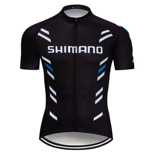 Mens Cycling Jersey Bicycle Road Riding Race Tops Team Clothing MTB Short Sleeve