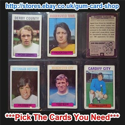 FAIR A/&BC 1971 PURPLE BACK 1ST SERIES 55 TO 109 *PICK THE CARDS YOU NEED*