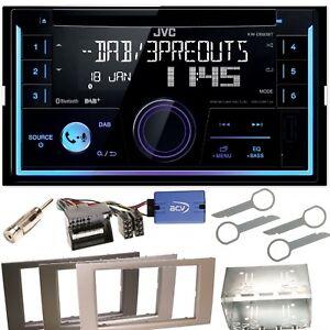 JVC-KW-DB93BT-USB-MP3-Bluetooth-Einbauset-fuer-Ford-Focus-Fusion-Galaxy-S-Max