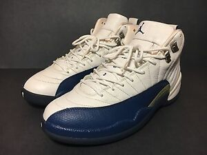 new product fb456 fcb64 Image is loading 2004-NIKE-AIR-JORDAN-12-XII-FRENCH-BLUE-