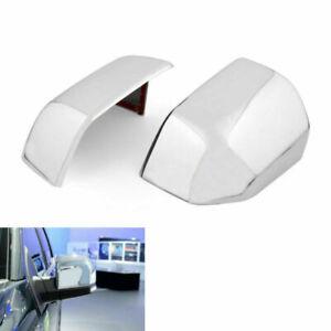 ABS-Chrome-Side-Espejo-Retrovisor-Cubiertas-Trim-Frame-Para-Ford-F150-F-150-16