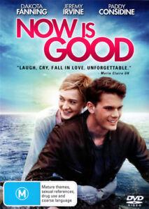 Now-is-Good-NEW-DVD-Region-4-Australia-Dakota-Fanning-Jeremy-Irvine