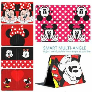 Red-Fashion-Mickey-Minnie-Mouse-PU-Leather-Stand-Smart-Cover-Case-For-Apple-iPad