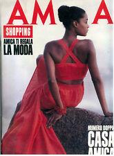 AMICA ANNO XXVI N. 14 28 MARZO 1988 ITALIAN FASHION MAGAZINE MODA