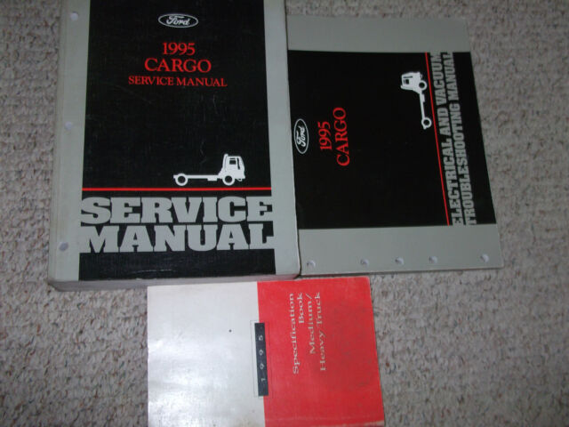 1995 Ford Cargo Truck Service Shop Repair Manual W Wiring
