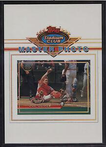 1993-Stadium-Club-5x7-Master-Photo-Members-Only-Joe-Oliver-Cincinnati-Reds