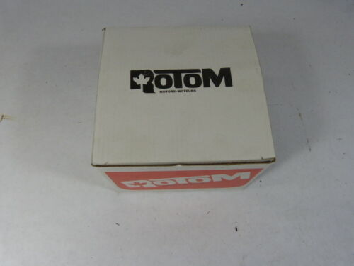 Details about  /Rotom T1-R3670 Motor 1//150 HP 120 V 3000 RPM 0.45 A  NEW