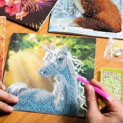 Diamond Painting DIY Craft Buddy CRYSTAL ART NOTIZBUCH A5 KAKADU 21x15cm