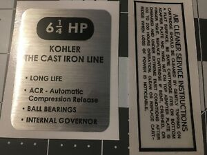 Kohler-Engine-6-1-4-HP-Wheel-Horse-Arctic-Cat-K141-black-and-silver-Set-2