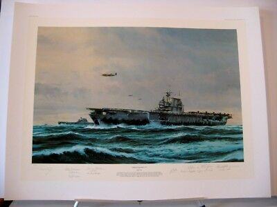 Avenging Strike by Robert Bailey,8 Doolittle Raider Signatures