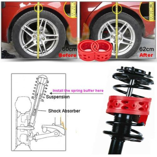 2pcs Front Shock Suspension Cushion Buffer Spring Bumper For Ford Ecospirt