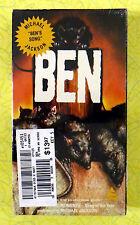 Ben ~ New VHS Movie ~ Rat Horror ~ Sealed Prism Video ~ Michael Jackson Song
