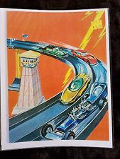 REPRINT Johnny Lightning COLORING BOOK BACK COVER TOPPER JOHNNY LIGHTNING
