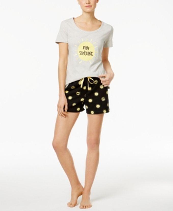 Family PJS Women's Mommy & Me My Sunshine Pajama Set Size XLarge