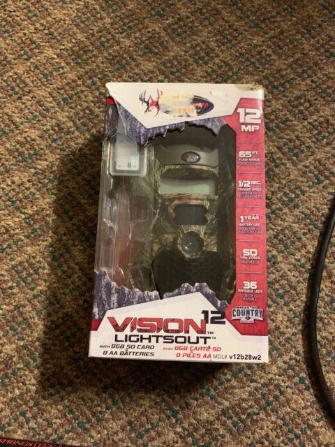 Wildgame Innovations Cloak Pro 12 Lightsout w// Batteries /& 8GB SD KP12B8T2-7