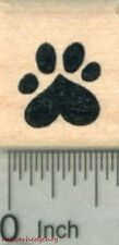 Small Heart Paw Print Rubber Stamp, Dog, Cat Valentine Series A29617  WM