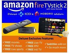 Amazon Fire TV Stick w/ Alexa Voice Remote - 2nd - Tv Addons 17.1 HACKED