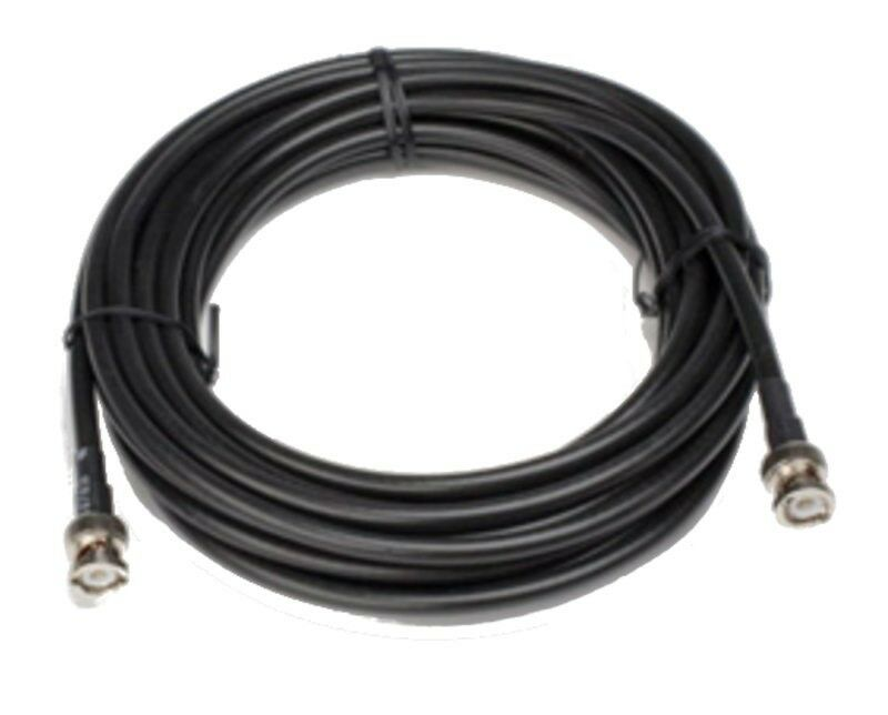 Shure UA825 25 ft UHF ,BNC-BNC Cable for Remote Antenna Mounting, RG8X U Type