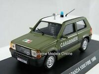Fiat Panda 1000 Fire 1986 Carabinieri Car Model 1/43rd Scale Hatchback <>