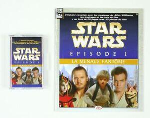 CD-Star-Wars-La-menace-fantome-Episode-1-L-039-histoire-racontee-K7-et-son-petit