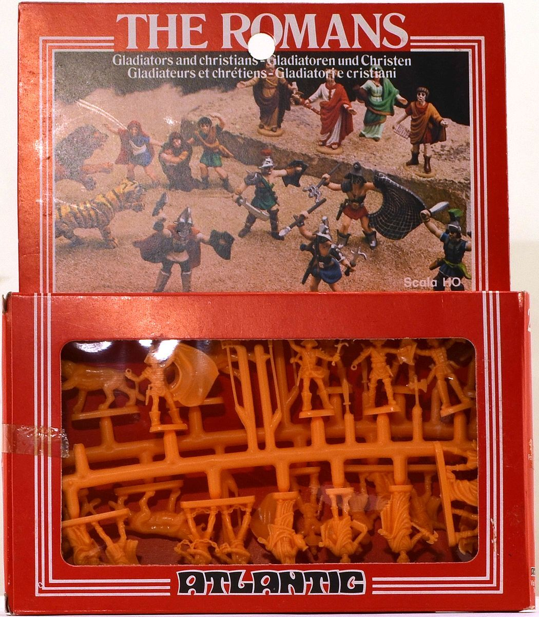 Atlantic Roman Gladiators and Christians - set 2512 - mint-in-box - 1 72nd scale