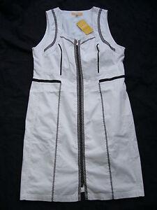 Gr Sea nouveau Paradise Biba UK10 Robe Blanc 36 wazAO67