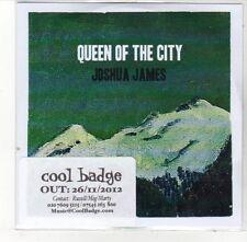 (DL194) Queen of the City, Joshua James - 2012 DJ CD