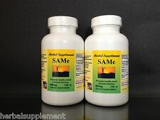 SAM-e 400mg ~240(2x120) enteric coated tablets,depression aid,spine. Made in USA