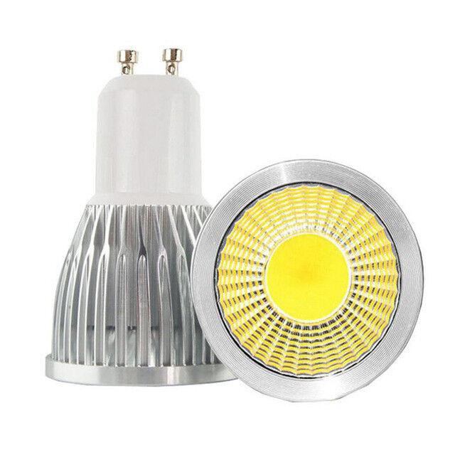GU10 LED 5w Bombilla de la lámpara del Proyector Alta Potencia SMD COB Día