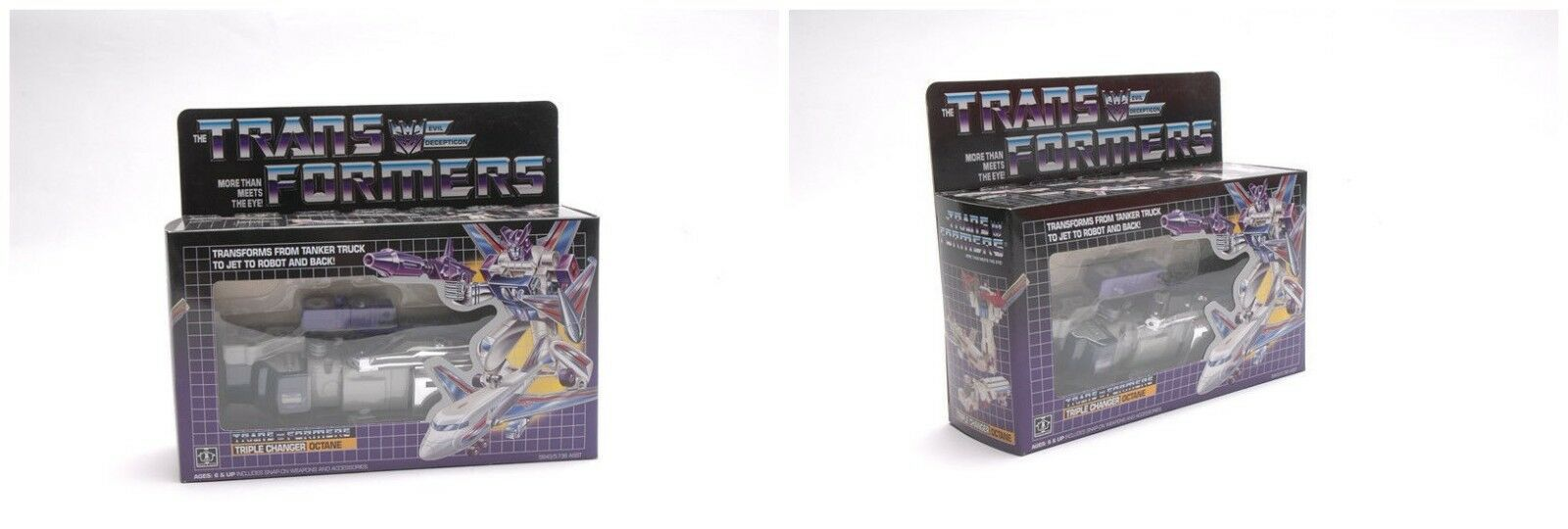 Transformers Reissued G1 OctaneTriple Changer Vintage Christmas Gift Toy