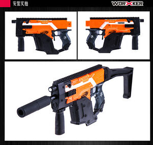 Nerf Stryfe Kriss Vector Black Gold