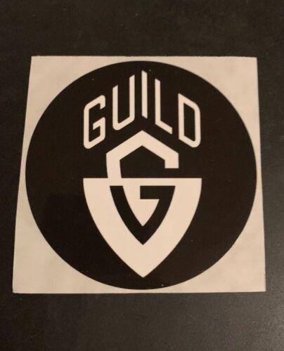 Decal Guild Guitars Sticker