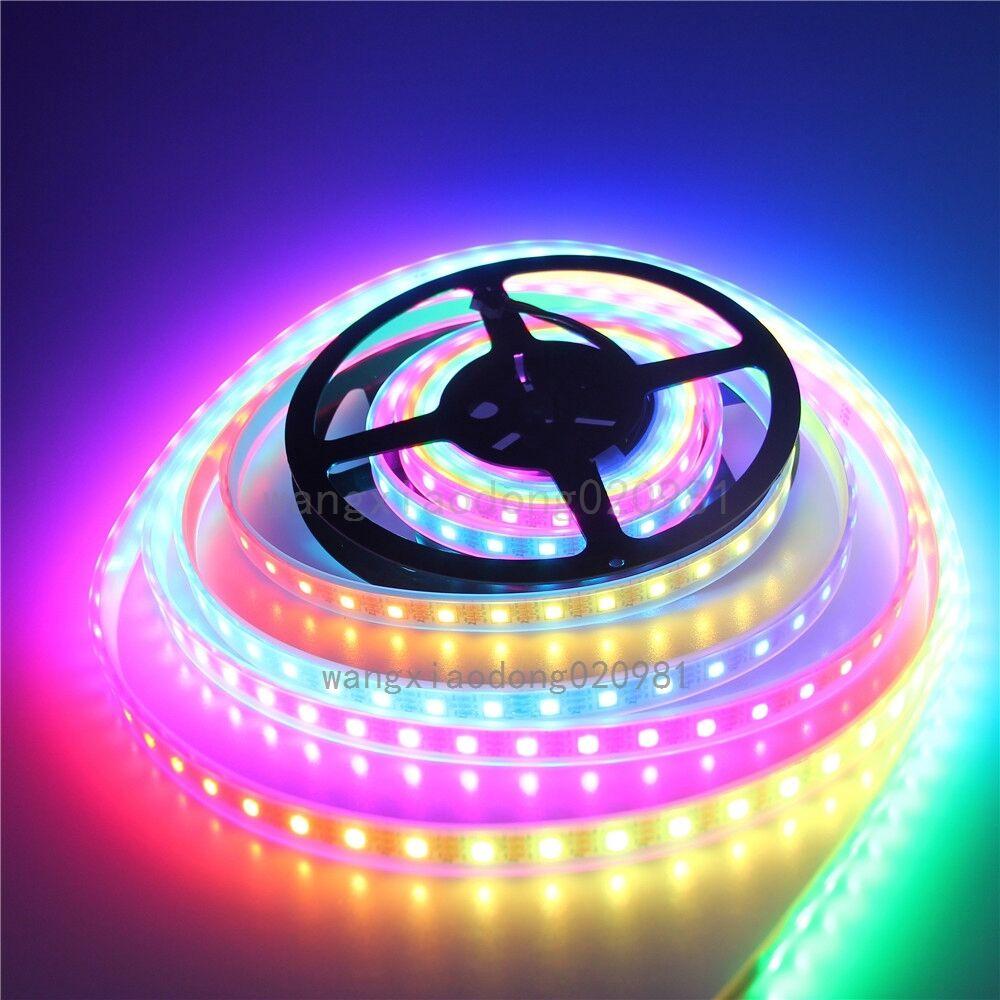 10M WS2812B RGB LED Tira 60 Leds m WS2811 individualmente direccionables Impermeable 5V