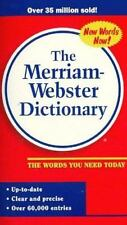 The Merriam-Webster Dictionary by Inc. Staff Merriam-Webster (1997, Paperback, R