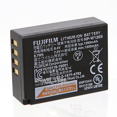 Fujifilm NP-W126S Batería ForXT2 Xt3 XE2S xe3 XA2 XA3 XA5 XT100 W126S