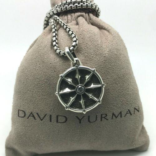 DAVID YURMAN Dharma Wheel Necklace Chain Sterling
