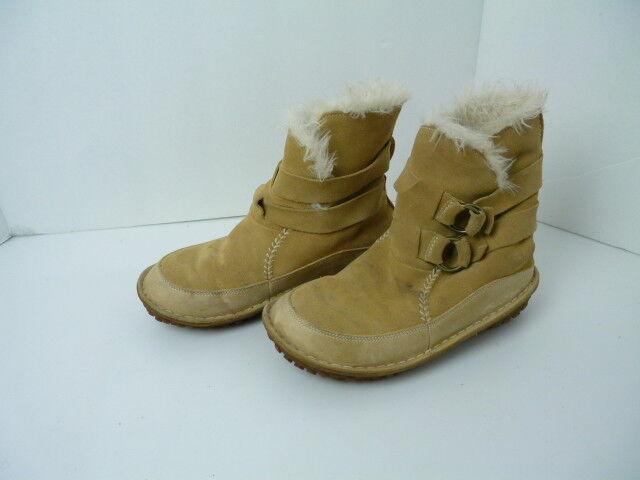 Sorel  Woomen's Beige Suede Shortie Stiefel Woomen's  Größe 7.5 763a50