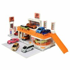 Takara Tomy Tomica Town Build City AUTOBACS Turntable 3 Patterns Japan F/s 93174