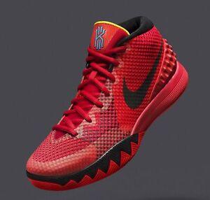 superior quality f963c cfada Image is loading Nike-Kyrie-1-Deceptive-Red-705277-606-jordan-